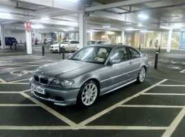 BMW 3 Series, 2005 (55) Grey Coupe, Manual Petrol, 111 miles