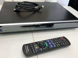 Panasonic Twin Freesat Tuners 250GB HDD Blu-ray Recorder with Multi Region Playback for DVD