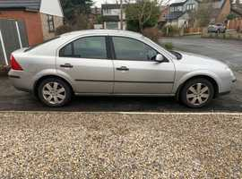 Ford Mondeo 2.0 Zetec  2002 (02) 3 previous owners new MOT Manual Petrol, 125,000 miles