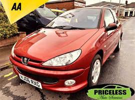 Peugeot 206, 2006 (06) Red Hatchback, Manual Petrol, 120,000 miles