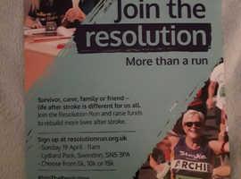 Stroke Association Resolution Run - 5K/10K/15K