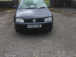 Volkswagen Golf, 2002 (02) Blue Estate, Manual Diesel, 182,000 miles