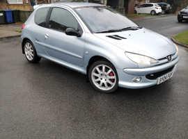 Peugeot 206, 2004 (04) Grey Hatchback, Manual Diesel, 101,000 miles