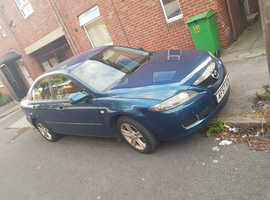 Mazda MAZDA 6, 2007 (57) Blue Hatchback, Manual Petrol, 135,480 miles