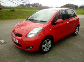 Toyota Yaris, 2010 (10) Red Hatchback, Manual Petrol, 57,000 miles