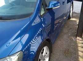 Volkswagen Golf Plus, 2006 (06) Blue Hatchback, Manual Diesel, 192,000 miles