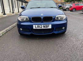 BMW 1 series, 2012 (12) Blue Coupe, Automatic Diesel, 62,124 miles