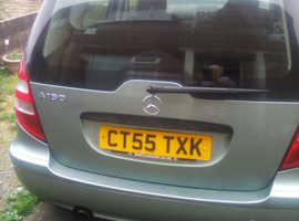 Mercedes A-CLASS, 2006 (55) Blue Hatchback, Manual Petrol, 900,000 miles