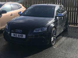 Audi A3, 2012 (12) Black Hatchback, Automatic Petrol, 24,000 miles