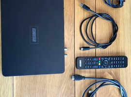 2 x Echostar Ultra Slim Twin tuner Freeview HD+ Player recorders