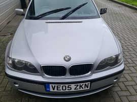 BMW 3 Series, 2005 (05) Silver Estate, Manual Petrol, 130,279 miles