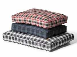 Lumberjack Box Duvet Mattress from Danish Design Dog Beds