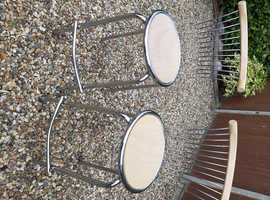 Pair of kitchen or bar stools