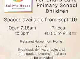 Sally's House Child Minding Services