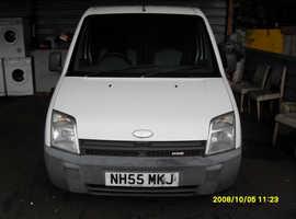 DIESEL VAN Ford Transit CONNECT VAN, 2005 (55) White , Manual Diesel,  miles