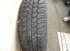 one 4x4 tyre