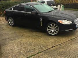 Jaguar Xf, 2010 (10) Black Saloon, Automatic Diesel, 50,000 miles