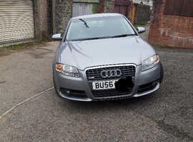 REDUCED!!!  Audi A4, 2006 (56) Grey Saloon, Manual Diesel, 100,618 miles