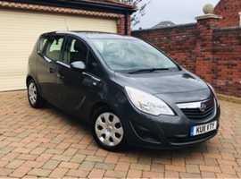 Vauxhall Meriva, 2011 (11), Automatic Diesel, 55,000 miles