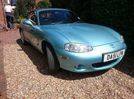 Mazda MX-5 1.8 Manual, 11,415 miles. ONE Owner from new. Genuine 11 K miles