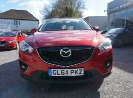 Mazda CX-5, 2014 (64) Red Estate, Automatic Diesel, 37,255 miles
