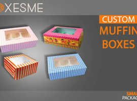 Get Your High-Quality Custom Muffin Boxes from us