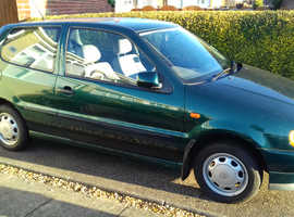 Volkswagen POLO L, 1994 (M) Green Hatchback, Manual Petrol, 152,101 miles