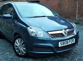Vauxhall Zafira 1.6 Petrol Life 2008 *1 Year Warranty* 7 Seater 85K