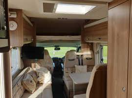 2016 Fiat Swift Lifestyle 696, 6 berth campervan