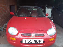 MGF Sports with private number plate