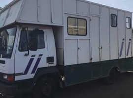 Horsebox 7.5ton