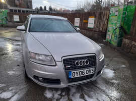 Audi A6, 2006 (06) silver estate, Manual Diesel, 130,000 miles