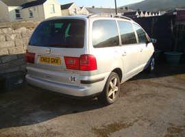 Seat Alhambra, 2003 (03) Silver mpv, Manual Diesel, 129000 miles