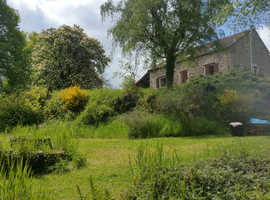 For sale old water mill, house, cottage and lake