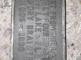 Lake & Elliot Memorial Plaque
