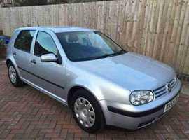 Volkswagen Golf, 2003 (53) Silver Hatchback, Manual Diesel, 105,000 miles