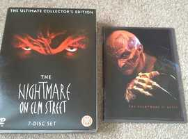 A NIGHTMARE ON ELM ST ULTIMATE COLLECTORS EDITION 7 DISC DVD BOXSET