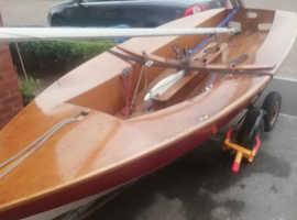 Solo Jack holt Wood dinghy