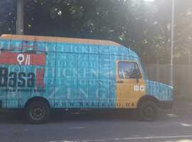 Mobile catering van with a new engine & batteries