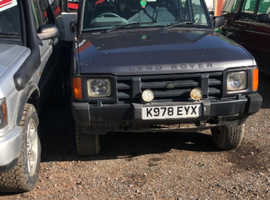 Land Rover DISCOVERY TDI, 1993 (K) Grey Estate, Manual Diesel, 123,456 miles