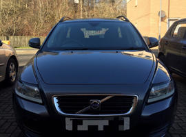 Volvo V50, 2009 (59) Grey Estate, Manual Diesel, 169,000 miles