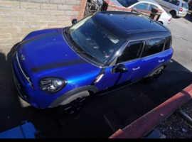 Mini MINI COUNTRYMAN, 2014 (64) Blue Hatchback, Manual Diesel, 34,000 miles