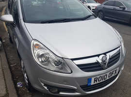 Vauxhall Corsa Car, 2010 (10) Silver Hatchback, Manual Diesel, 67,881 miles