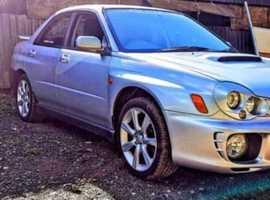 Subaru Impreza, 2002 (52) Silver Saloon, Manual Petrol, 101,313 miles