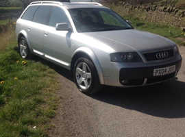 Audi A6, 2004 (04) Silver Estate, Automatic Diesel, 123,000 miles
