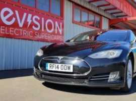 Tesla Model S, 2014 (14) Black **FULLY ELECTRIC**