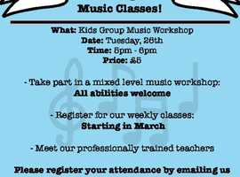 Affordable Kids Music Classes
