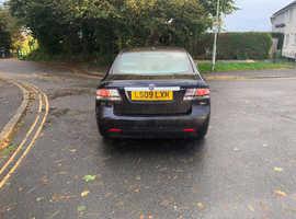 Saab 9-3, 2009 (09) Black Saloon, Manual Diesel, 100,000 miles