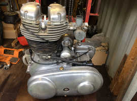 Royal Enfield ( Indian ) 350 Bullet engine gearbox unit.
