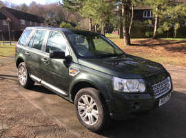 Land Rover Freelander, 2007 (57) Green Estate, Automatic Diesel, 216,214 miles